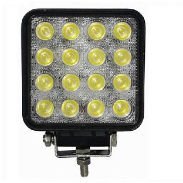 werklamp led 16 leds 48W 10-30V-0