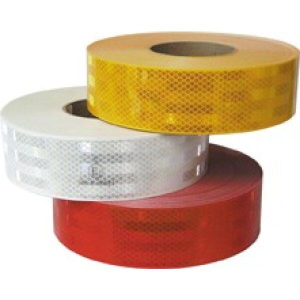 Reflectie tape wit 12,5 m-0