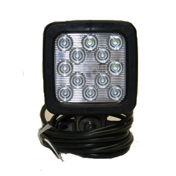 werklamp led 12 leds 2400 Lumen 12-24V incl. E-keur -0