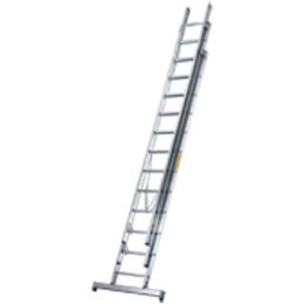 ladder 3 delig 2300/3600/5800mm aluminium-0