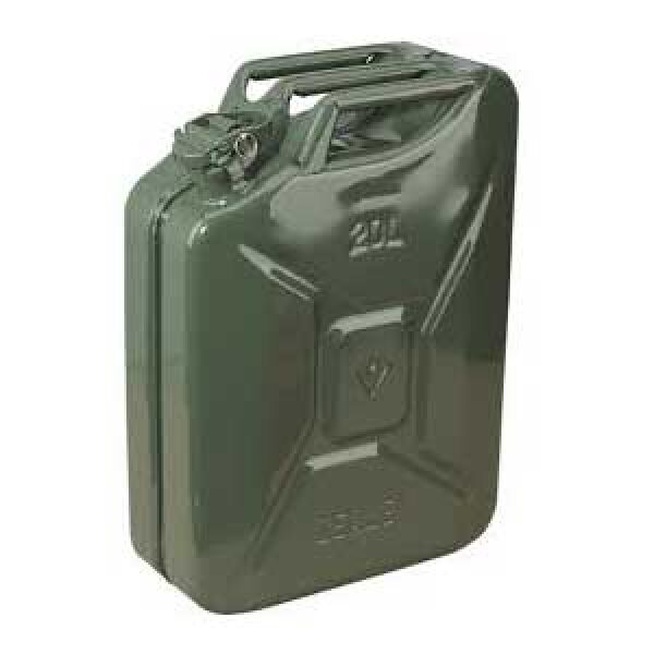 jerrycan 20l staal groen/army-0