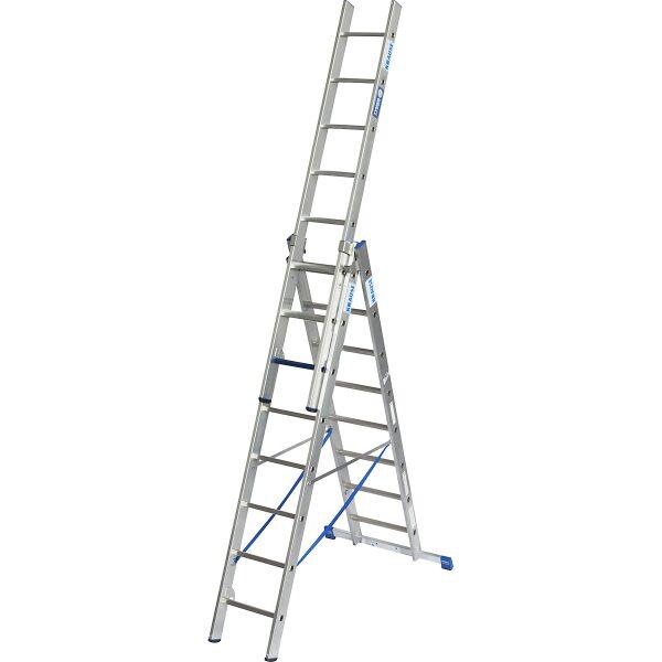 ladder 3 delig 2300/3600/5800mm aluminium-8088