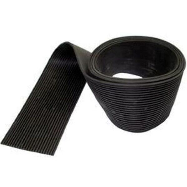 tankband rubber 80mm breed olie bestendig 10mtr-0