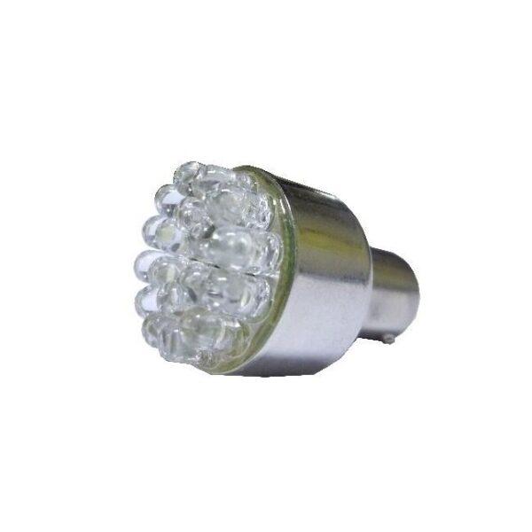 led lamp BA15S wit 24V / 18 leds incl. achteruitrijalarm-0