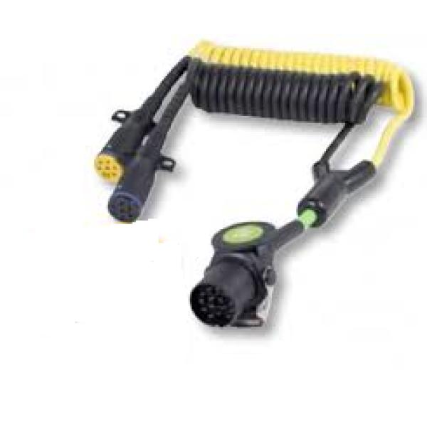 EBS lichtspiraal/ adapter Phillips kabel 2x (6x 1,0mm² & 1x 1,5mm²) -0