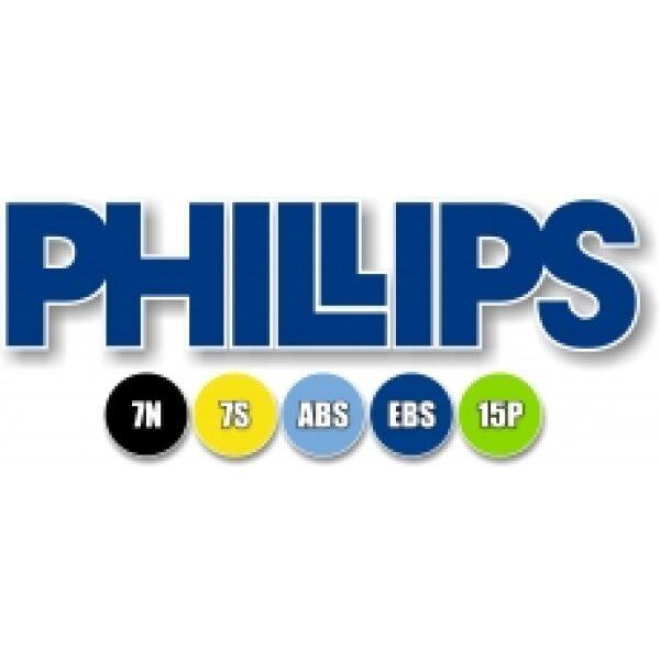 EBS stekker schroefpen Phillips 7 polig 24V-6117
