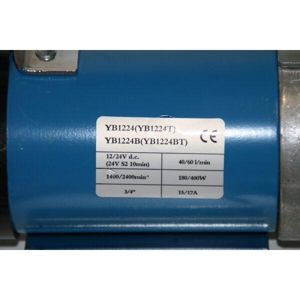 vloeistofpomp compleet 12V 50LTR P/MIN-6161