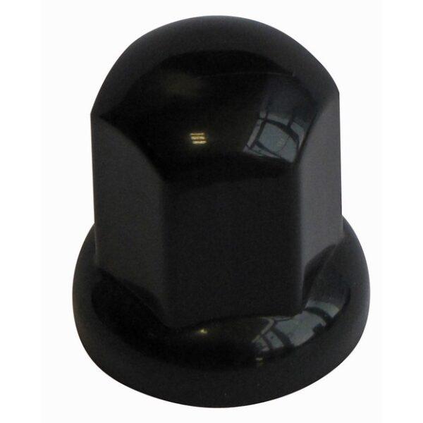 beschermdop/wielmoerdop 32mm/hoogte 53mm kunststof zwart extra lang / prijs/verpakt per 20st-0