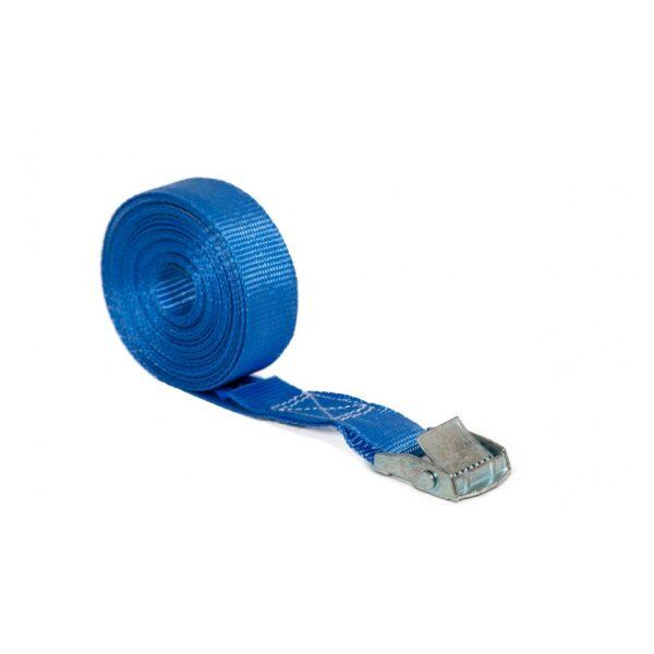 spanband met klemgesp 6mtr / 20mm breed + label-0