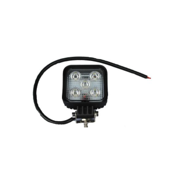 werklamp led 5x3W 975 lumen 8.5x8.5cm 10-30V-6192