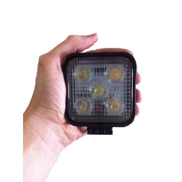 werklamp led 5x3W 975 lumen 8.5x8.5cm 10-30V-0