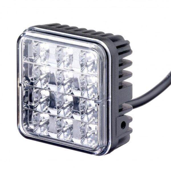 led flitslamp Rubbolite/ Truck-lite 10/30V 12 leds IP69-0