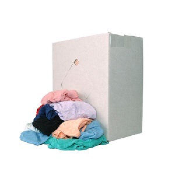 poetsdoek per doos 10kg tricot bont-0