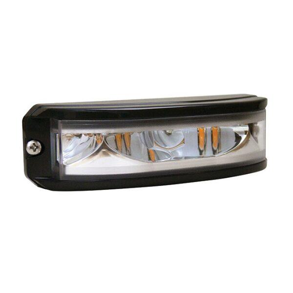 led flitslamp Peterson 6 leds 12-24V R65 EMC oranje 180°-0