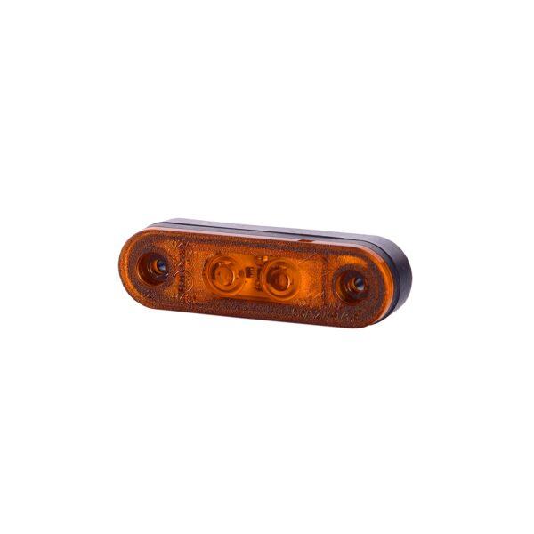 led zijmarkeringslamp Horpol oranje 12/24V 2 leds-0