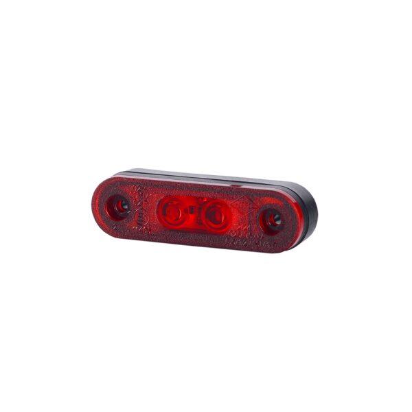 led toplamp Horpol rood 12/24V 2 leds-0