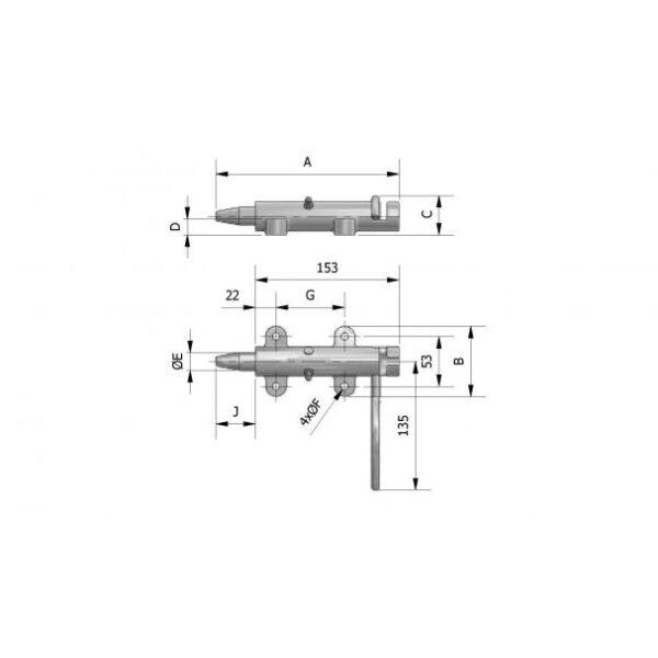 buca sluiting verend rechts-7290