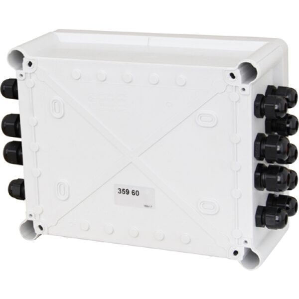 verbindingsdoos 240x190x90mm Le Grand compleet met PG-wartels -7330