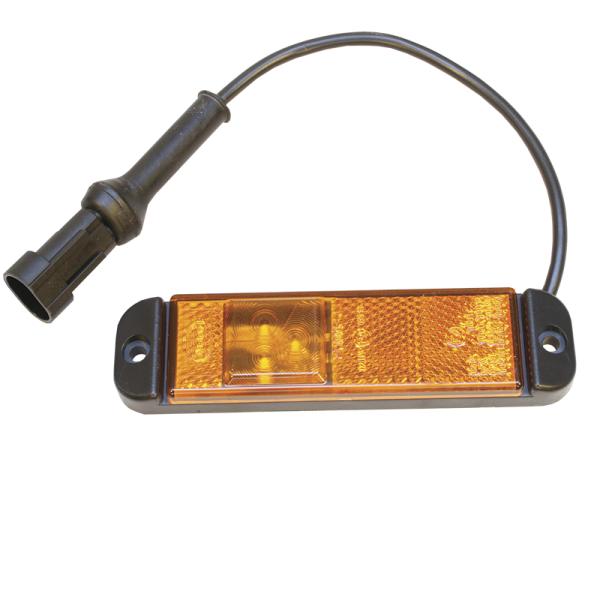 led zijmarkeringslamp Hella + superseal stekker -0