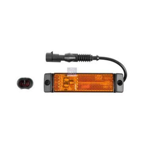 led zijmarkeringslamp Hella + superseal stekker -7700