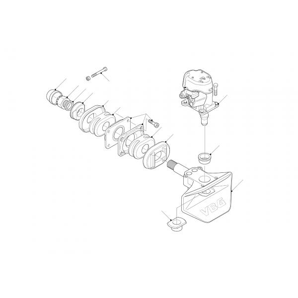 aanhangwagenkoppeling VBG 40mm -8017
