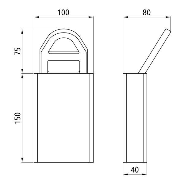vloeranker 6500 daN staal-8287